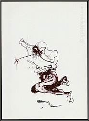 Paul Rebeyrolle: Original-Lithographie 'Hommage' 1982, Maeght Paris - Bilder | Originale | Werke | Drucke