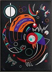 Wassily Kandinsky: 'Kometen' Comètes, Farblithographie von 1938, Mourlot - Druckgrafik | Lithographien