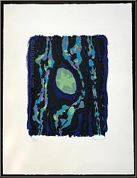 Alfred Manessier: 'Advent' 1961, Original-Farblithographie, signiert, Weihnachten, Stern von Betlehem - Werke