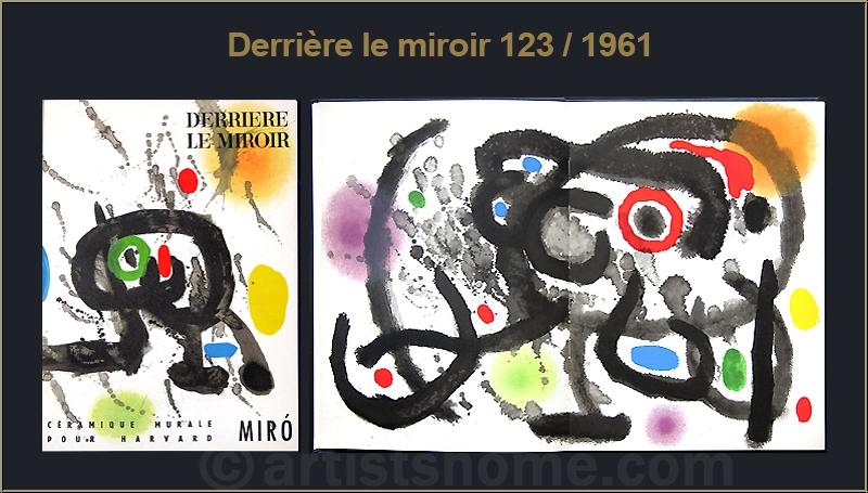 Joan miro derriere le miroir 1961 1970 mit 31 for Miro derriere le miroir