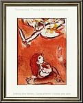 Marc Chagall: Israel, Schutzengel, 1960 Original-Lithographie für Bilder zur Bibel - Werke | Druckgrafik