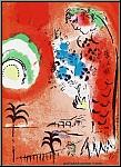 Marc Chagall: Bucht der Engel, Engelsbucht 1960, Original-Lithographie