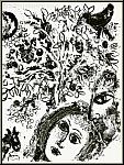 Marc Chagall: Pärchen vor dem Baume, Original Lithographie 1960