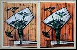 Bernard Buffet: Les ombelles 1972 Lithographie Mourlot 'Souvenirs et Portraits d'artistes' Original Fälschung