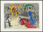 Marc Chagall, 1979: Derriere le miroir DLM 235, Original Lithographien