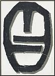 Raoul Ubac: Abstrakte Original-Lithographie