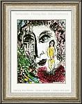 Marc Chagall: 'Auftreten im Zirkus' 1963, Reiterin mit Pferd, L'apparition au Cirque - Lithographien | Drucke
