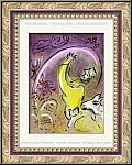 Marc Chagall: Salomon - Die Könige, 1956, Original-Lithographie für Verve Bilder zur Bibel - Werke | Drucke