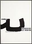 Eduardo Chillida, 1973: Derriere le miroir 204 Original-Lithographien