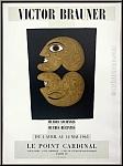Victor Brauner: Le Point Cardinal, 1963, Originalplakat Siebdruck