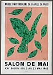 René Magritte: Musée d'Art Moderne 1965, Salon de Mai, Lithographie