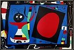 Joan Miro: Femme au miroir, Frau im Spiegel 1956 Original-Lithographie