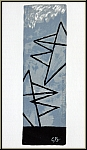 Georges Braque: Ciel gris I, Grauer Himmel, 1959, Farblithographie