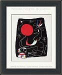 Joan Miro: Nachthimmel, 1956, Original-Lithographie (Mourlot)
