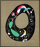 Joan Miro: Der Zauberstein, 1956, Original-Lithographie (Mourlot)