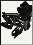Pierre Soulages: Original Lithographie Nr. 17 von 1963, Mourlot