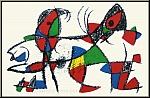 Joan Miro: »Delphin und Papagei«, 1975, Original Lithographie X