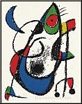 Joan Miro: »Mondmäuschen«, 1975, Original Lithographie XI