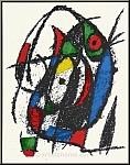 Joan Miro: »Grashüpfer«, 1975, Original Lithographie IV