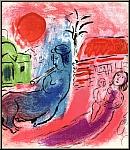 Marc Chagall: Original Lithographie