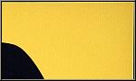 Hans Arp: Original-Holzschnitt auf gelbem Büttenkarton, Ultimismus-Theorie (Nachfolge-Bewegung des Dadaismus)
