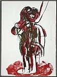 Rolf Szymanski: 'Spiegel II' 1971, Lithographie signiert u. nummeriert