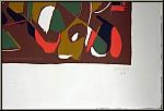 André Lanskoy: Farblithographie, signiertes Künstlerexemplar (épreuve d'artiste) - Werke | Originale | Drucke