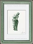 Apel-les Fenosa: 'Tramontane' Frau im Wind 1972, Original-Lithographie für Souvenirs et portraits d'artistes