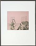 Reiner Schwarz: Hannas Flirt, 1967, Original-Lithographie handsigniert