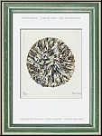 Alfred Manessier: Lithographie 'Schneeball' Boule de neige 1972, handsigniert, Arches Bütten - Rahmenvorschlag