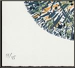 Alfred Manessier: Lithographie 'Schneeball' Boule de neige 1972, handsigniert, Arches Bütten - Nummerierung