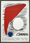 Alexander Calder: Au Pont des Arts, Galerie Lucie Weill, 1956, Mourlot